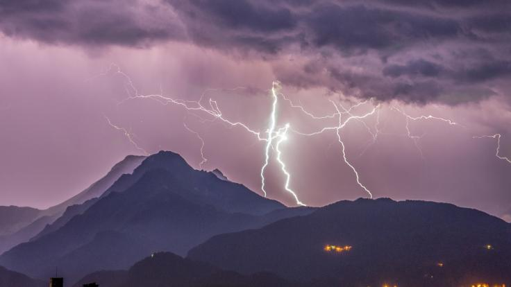 In der Toskana drohen schwere Gewitter.