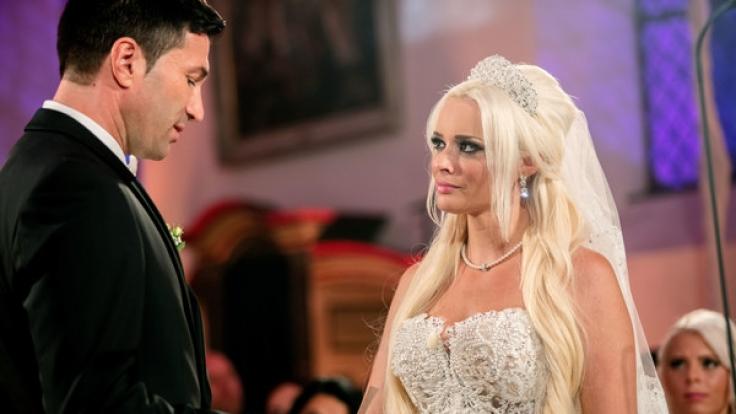 Lucas Cordalis und Daniela Katzenberger haben im Juni 2016 vor laufender Kamera geheiratet. (Foto)