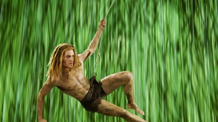 Viele Jahre stand Alexander Klaws als Tarzan auf der Bühne. (Foto)