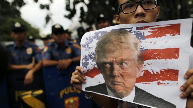In den USA protestieren zahlreiche Bürger gegen den Wahlsieg von Donald Trump.