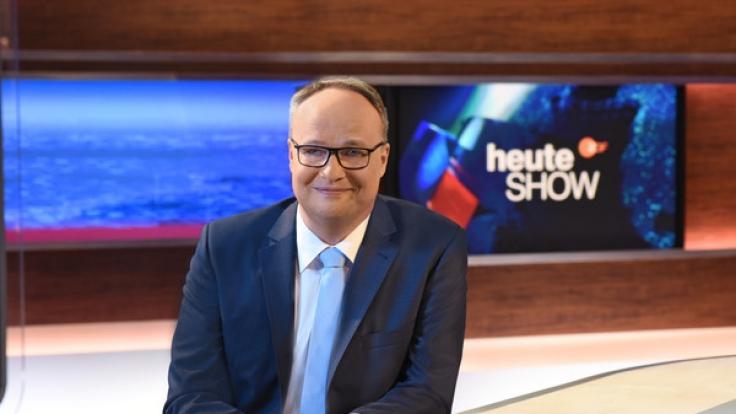 """Oliver Welke meldet sich am Freitag, dem 06.04.2018, nach einer kurzen Osterpause mit einer neuen Folge der """"heute-show"""" zurück. (Foto)"""