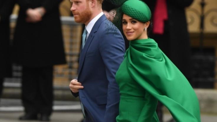Prinz Harry und Herzogin Meghan hatten es gut gemeint, doch die Internet-User fanden die COVID-19-Tipps einfach nur bevormundend. (Foto)