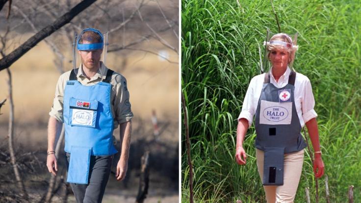 Im Minenfeld: Prinz Harry wandelte in Angola auf den Spuren seiner Mutter und betätigte sich auch als Sprengmeister. (Foto)