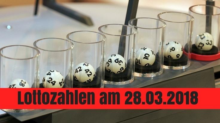 Lottozahlen am 28.03.2018: Gewinnzahlen, Jackpot und Quoten beim Lotto am Mittwoch.