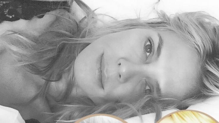 Heidi Klum versorgt ihre Fans in schöner Regelmäßigkeit mit sexy Schnappschüssen von sich. (Foto)