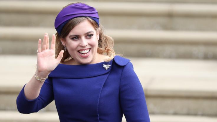 Prinzessin Beatrice von York könnte wenige Monate nach der Hochzeit ihrer Schwester Prinzessin Eugenie für die nächste royale Trauung sorgen. (Foto)