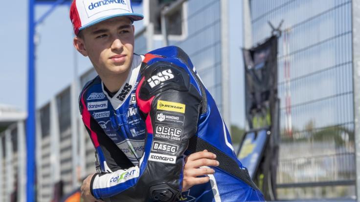 Der Schweizer Motorrad-Pilot Jason Dupasquier (19) ist beim Moto3-Qualifying in Mugello tödlich verunglückt. (Foto)