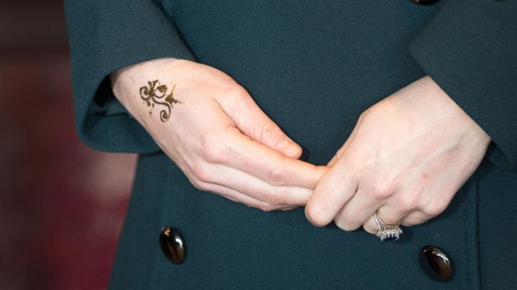 Das Henna-Tattoo von Herzogin Kate (Foto)