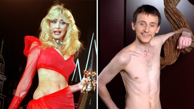 Er lebt jetzt von HartzIV, sie versucht es als Sängerin: Die Porno-Urgesteine Dolly Buster und Sachsen-Paule. (Foto)