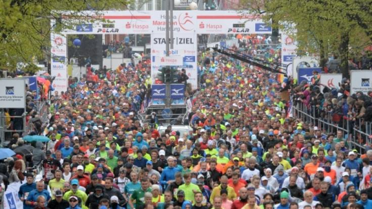 Am 29. April 2018 startet der 33. Marathon in der Hansestadt Hamburg. (Foto)