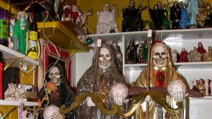 Der Glaube an Santa Muerte ist wirklich skurril. (Foto)