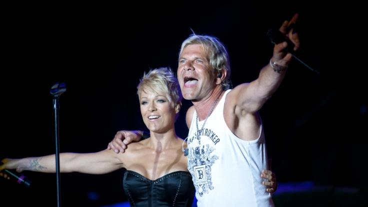 Die Schlagersängerin Michelle und ihr Ex-Mann Matthias Reim standen schon oft gemeinsam auf der Bühne.