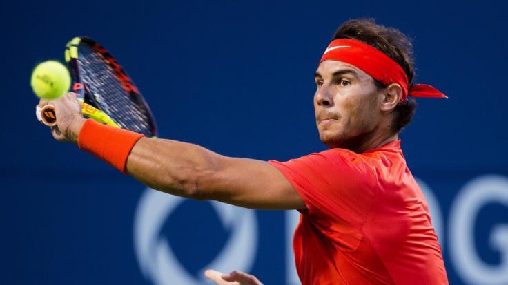 Rafael Nadal steht im Finale des Rogers Cup 2018.