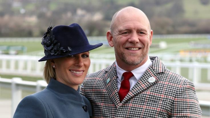 Zara Tindall, Enkelin der britischen Königin, und ihr Ehemann Mike Tindall, wurden Zeuge einiger unschöner Szenen während des diesjährigen EM-Finals. (Foto)