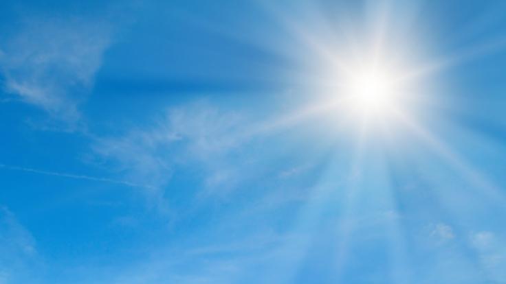 Am Wochenende sollen die Temperaturen kräftig steigen.