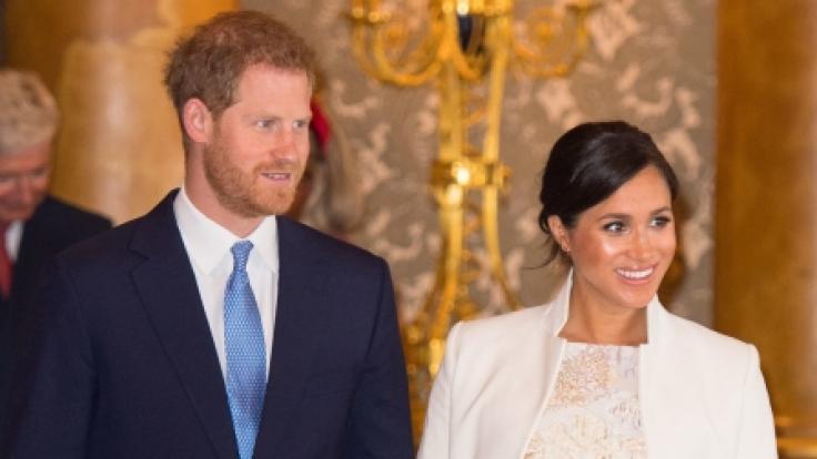 Prinz Harry wird vorerst ohne seine Meghan auskommen müssen. Herzogin Meghan hat sich in die Baby-Pause verabschiedet. (Foto)