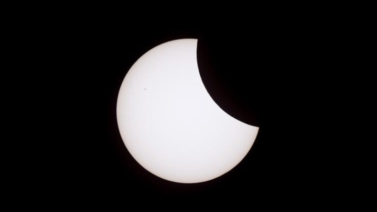 Am 13.07.2018 findet eine partielle Sonnenfinsternis statt. (Foto)