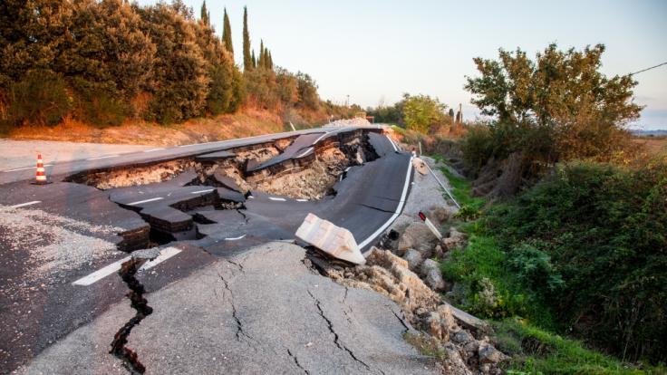 Der Zeitreisende warnt vor einem gigantischen Erdbeben. (Foto)
