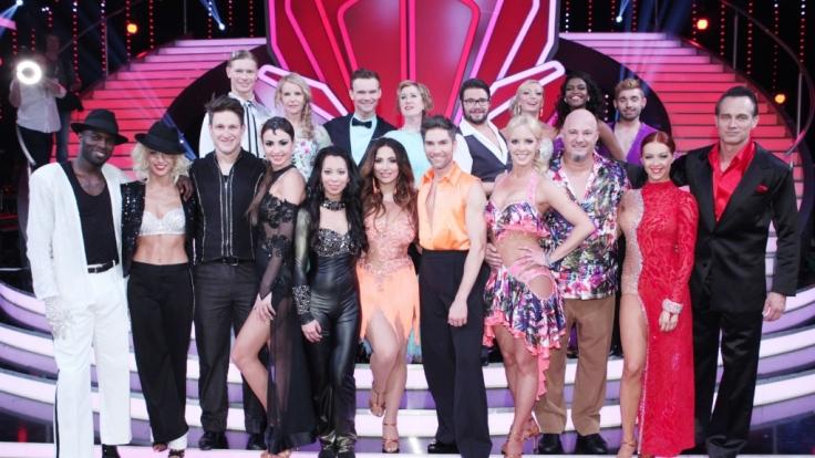 """Zehn Paare kämpfen bei """"Let's Dance"""" 2015 noch um den Titel des Dancing Stars. (Foto)"""