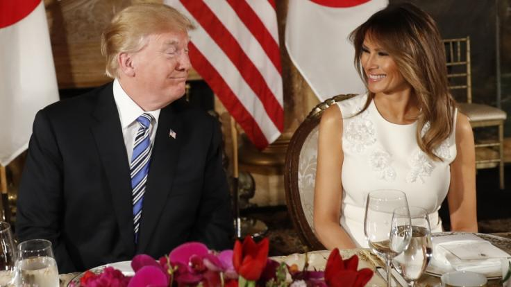 Immer wieder wird über die Ehe von Melania und Donald Trump spekuliert. (Foto)