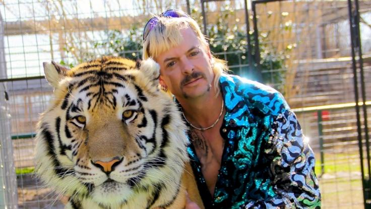 """Der """"Tiger King"""" Joe Exotic könnte von US-Präsident Donald Trump begnadigt werden. (Foto)"""