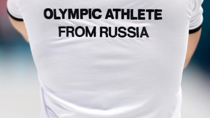 Russische Sportler starten bei den Olympischen Winterspielen 2018 in Pyeongchang unter der Bezeichnung