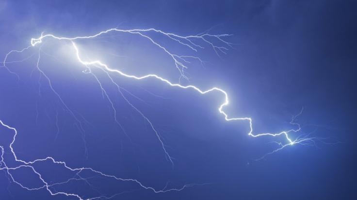 Der Deutsche Wetterdienst warnt vor schweren Unwettern.