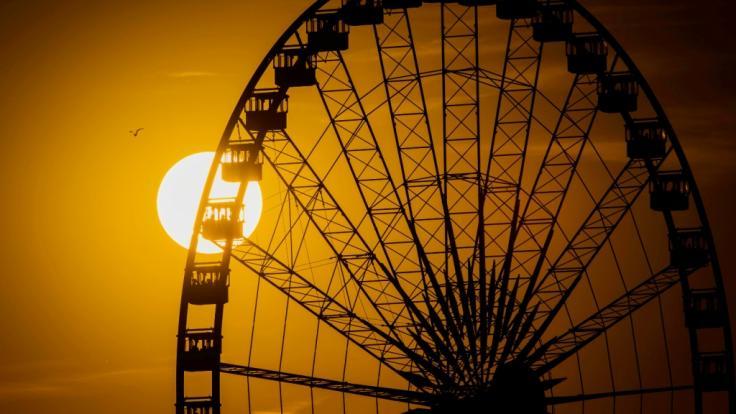 Ein Pärchen hatte in Cincinnati Sex in einer gläsernen Riesenradgondel. (Symbolbild)