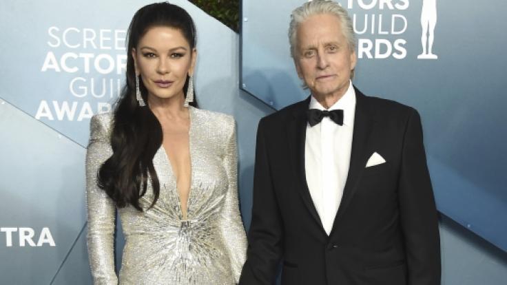 Zwei der ganz Großen in Hollywood: Catherine Zeta-Jones und Ehemann Michael Douglas.