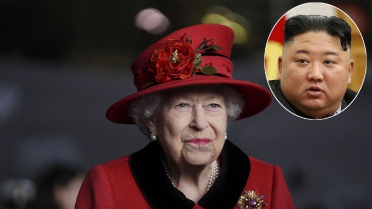Die Queen hat Kim Jong-un eine Gruß-Botschaft geschickt. (Foto)