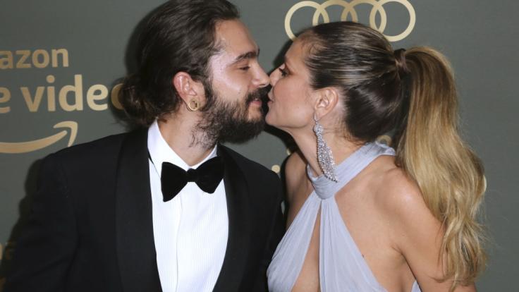 Überglücklich: Heidi Klum und Tom Kaulitz.