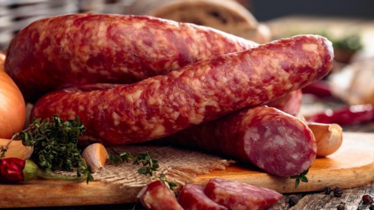 Norma ruft aktuell Schweinefleischknacker zurück.