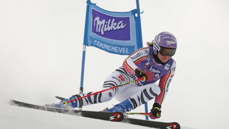 Viktoria Rebensburg konnte nicht aufs Podium klettern. (Foto)