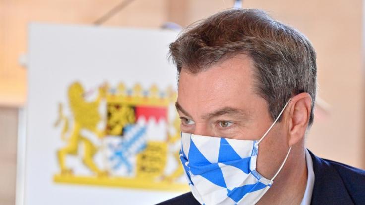 Markus Söder (CSU), Ministerpräsident von Bayern, hat neue Verschärfungen im Kampf gegen das Coronavirus angekündigt. (Foto)