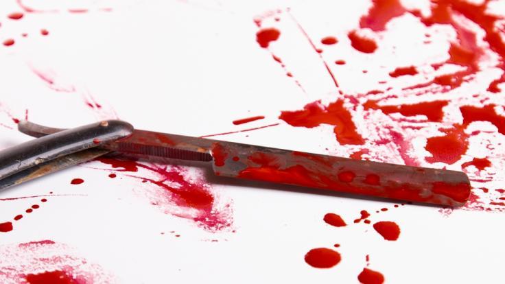 In den USA hat sich ein Mann während einer Verfolgungsjagd mit der Polizei den Penis abgeschnitten. (Foto)