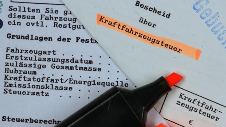 Die Kfz-Steuer steigt ab 1. September 2018.