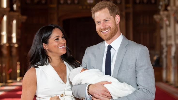 Archie Harrison Mountbatten-Windsor kam am 6. Mai 2019 auf die Welt. Nun gibt es ein neues Foto. (Foto)
