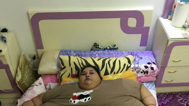 Eman Ahmed wog bis vor Kurzem noch 500 Kilogramm. (Foto)