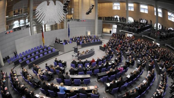 Neuer Bundestag wählt Lammert zum Präsidenten (Foto)