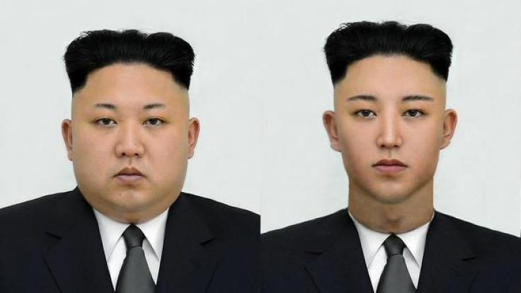 Das Original rechts und die Schlank-Version links. Sieht so ein Diktator aus? Wohl kaum. (Foto)