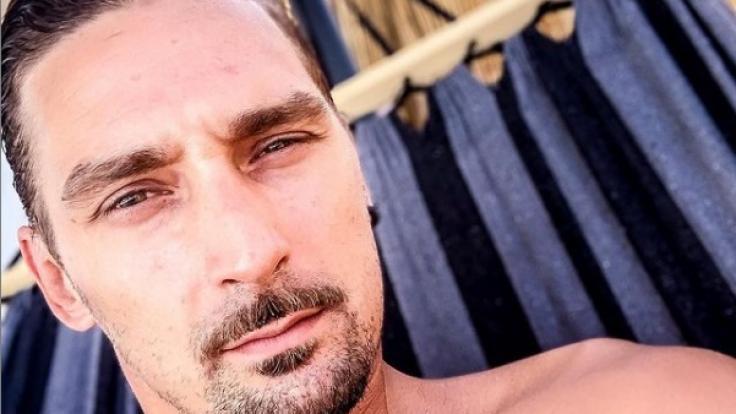 Mit sonnigen Selfies wie diesem präsentiert sich Sandy Fähse auf seinem öffentlichen Instagram-Kanal. (Foto)