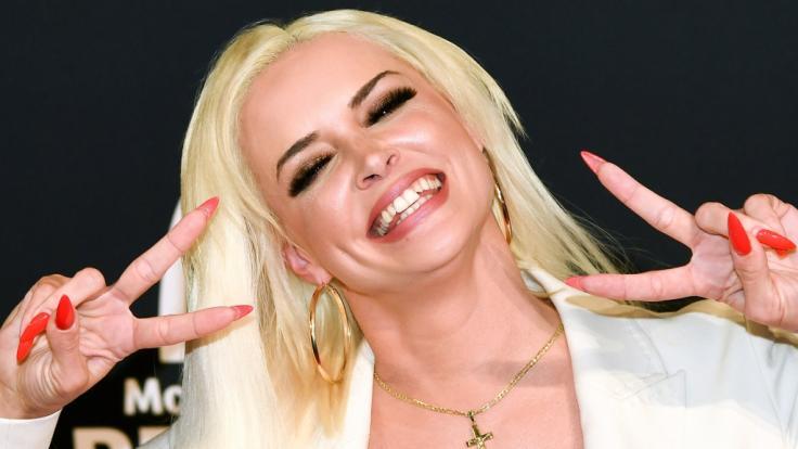 Kultblondine mit unverwechselbarem Lächeln: Daniela Katzenberger. (Foto)