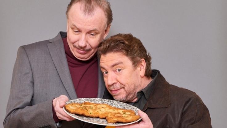 Wenn Armin Rohde (r.) und Ludger Pistor gemeinsam Schnitzel essen, freuen sich Zuschauer und Kritiker gleichermaßen. (Foto)
