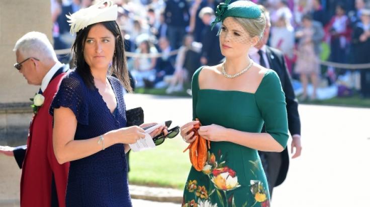 Lady Kitty Spencer zog im Mai 2018 bei der Hochzeit ihres Cousins Prinz Harry alle Blicke auf sich. (Foto)