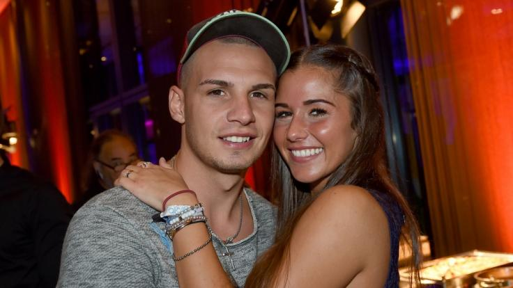 Ein Bild aus glücklichen Tagen: Vor rund zwei Jahren ging die Beziehung von Pietro und Sarah Lombardi in die Brüche.
