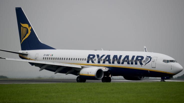 Viele Ryanair-Maschinen bleiben am Freitag am Boden.