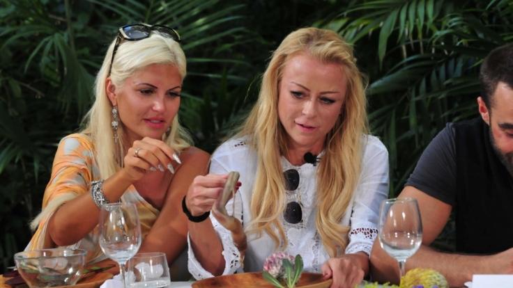 Jenny Elvers soll von einem Ochsenpenisen die Eichel essen. (Foto)