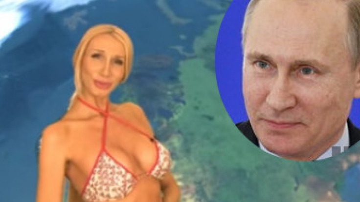 Wetterfee Larisa Sladkova will ins russische Parlament einziehen.