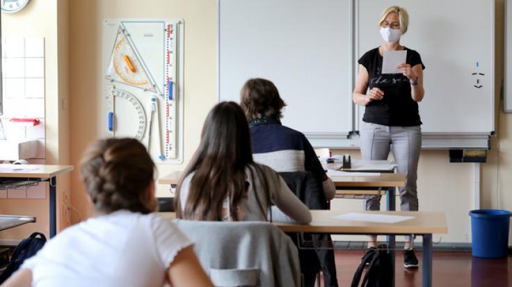 Unter welchen Voraussetzungen kann der Schulbetrieb wieder hochgefahren werden? (Foto)
