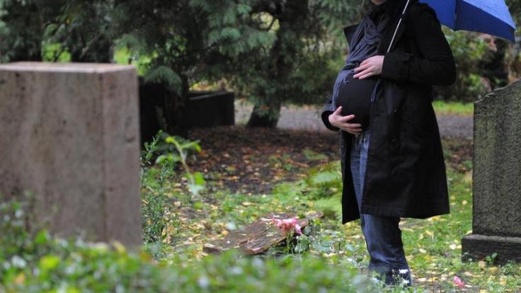 Wenn Schwangerschaft und Tod zusammentreffen (Foto)